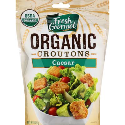 Fresh Gourmet Croutons, Organic, Caesar