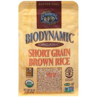 Lundberg Family Farms Biodynamic Organic Short Grain Brown Rice