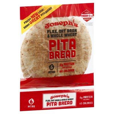Joseph's Flax Pita Bread