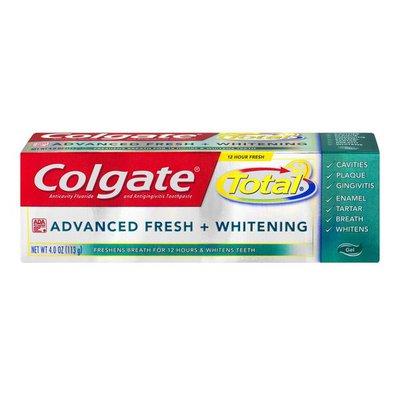 Colgate Total Advanced Fresh + Whitening Toothpaste Gel