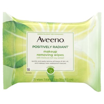 Aveeno® Positively Radiant Makeup Removing Wipes