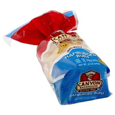 Canyon Bakehouse Gluten Free 100% Whole Grain Hamburger Buns