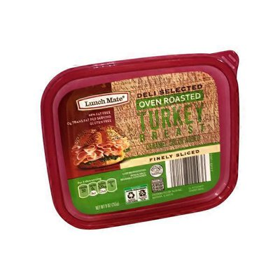 Lunch Mate Oven Roasted Turkey Tub Lunchmeat
