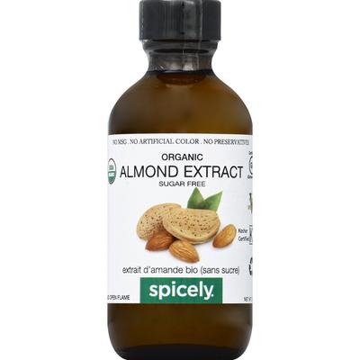 Spicely Organics Almond Extract, Organic