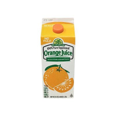 Nature's Nectar Not From Concentrate Orange Juice