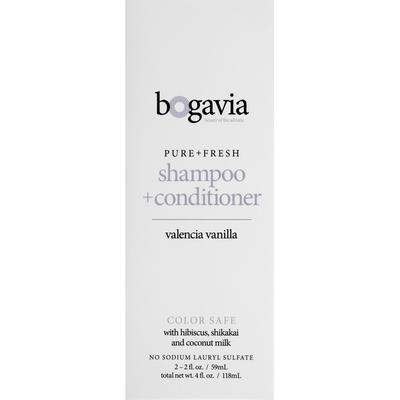 Bogavia Shampoo + Conditioner, Valencia Vanilla
