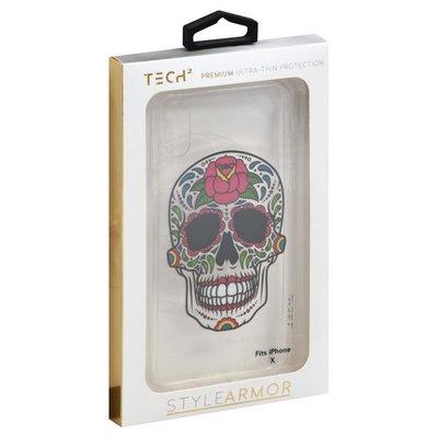 Tech2 Phone Case, Premium, Ultra-Thin, Fits iPhone X