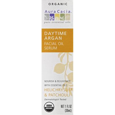 Aura Cacia Facial Oil Serum, Organic, Daytime Argan, Helichrysum & Patchouli
