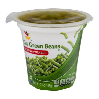 Ahold Microwaveable Cut Green Beans