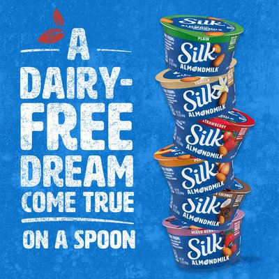 Silk Peach Almond Milk Yogurt Alternative