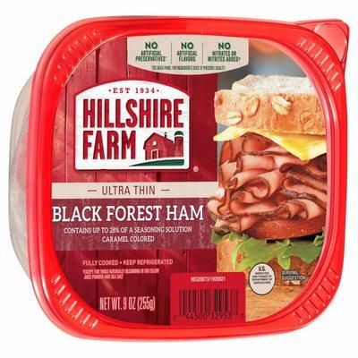 Hillshire Farm Ultra Thin Sliced Black Forest Ham Deli Meat