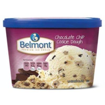 Belmont Chocolate Chip Cookie Dough Ice Cream