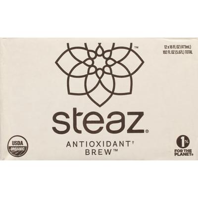 Steaz Green Tea, Super Fruit, Antioxidant Brew