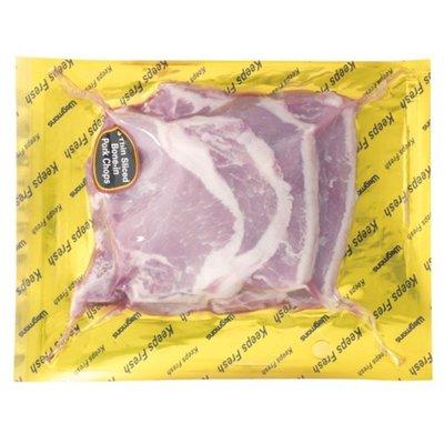 Wegmans Bone-In Pork Chops, Thin Sliced