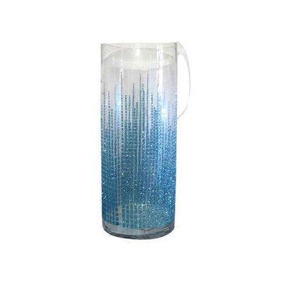 "11.82"" Large Dl Glisten Vase"