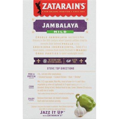 Zatarain's® Mild Jambalaya Mix