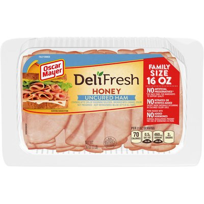 Oscar Mayer Deli Fresh Honey Shaved Smoked Ham