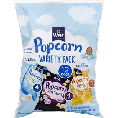 Wise Popcorn Variety Pack