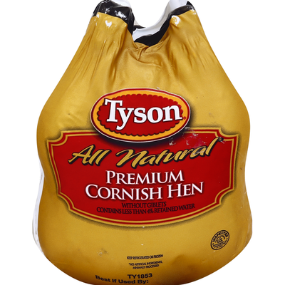 Tyson Cornish Hen, Premium