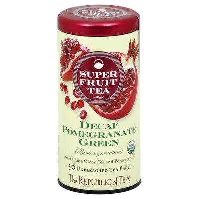 The Republic of Tea Green Tea, Pomegranate Green, Decaf, Bags