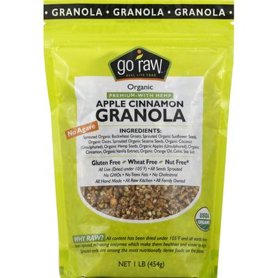 Go Raw Granola, Apple Cinnamon, Organic