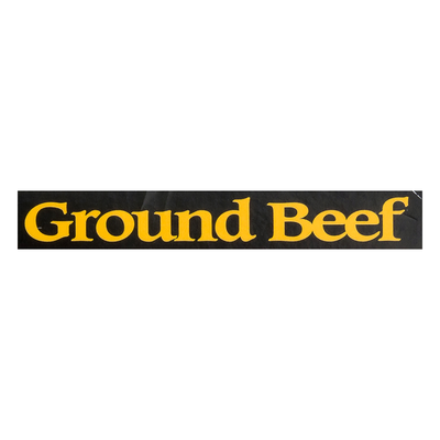 Meal Mar Ground Beef, All Natural, Deveined, Soaked & Salted