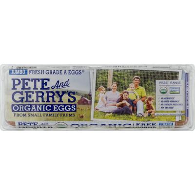 Pete And Gerry's Organic Eggs Organic Eggs Jumbo Grade A Eggs