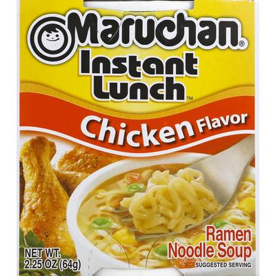 Maruchan Chicken Flavor Ramen Noodle Soup