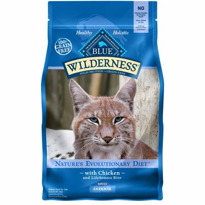 Blue Buffalo Wilderness Natural Revolutionary Diet Chicken Recipe with LifeSource Bits for Cats