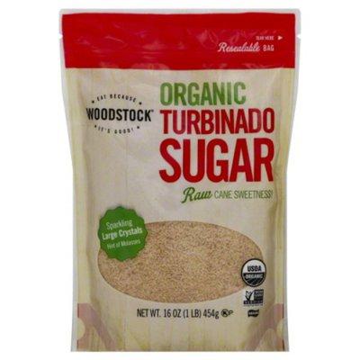 WOODSTOCK Organic Turbinado Sugar