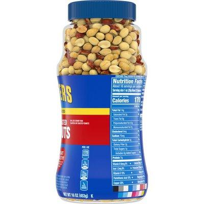 Planters Lightly Salted Dry Roasted Peanuts