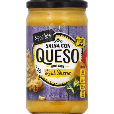 Signature Select Salsa Con Queso, Medium