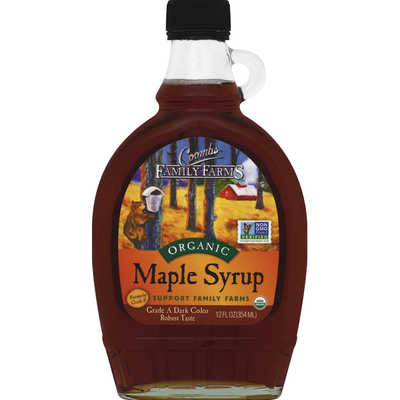 Coombs Family Farms Syrup, Organic, Maple