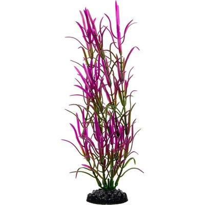 Petco Purple & Green Background Aquarium Plant