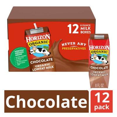 Horizon Organic Lowfat Chocolate Milk