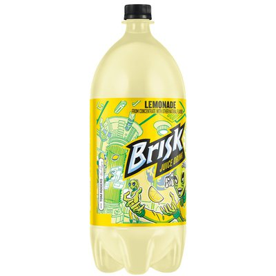 Brisk Lemonade Juice Drink