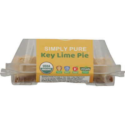Chef Cristy's Pie, Organic, Plant-Based, Key Lime, Simply Pure