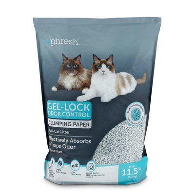 So Phresh Unscented Paper Clumping Cat Litter