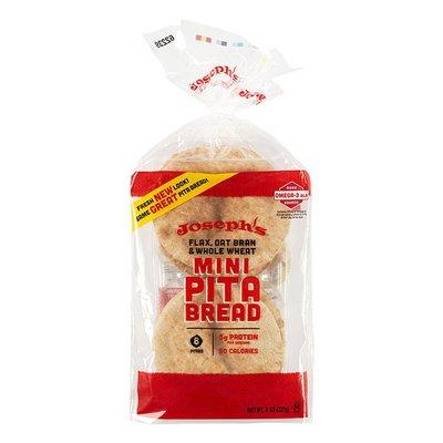 Joseph's Mediterranean Cuisine Flax Mini Pita Bread
