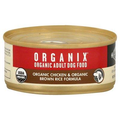 Organix Dog Food, Adult, Organic Chicken & Organic Brown Rice Formula