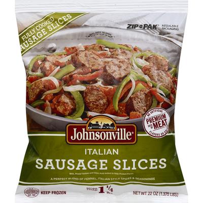 Johnsonville Sausage, Italian, Slices