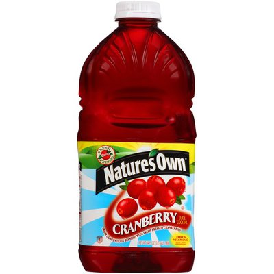 Nature's Own Cranberry Juice Cocktail