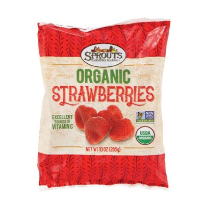 Sprouts Organic Whole Strawberries
