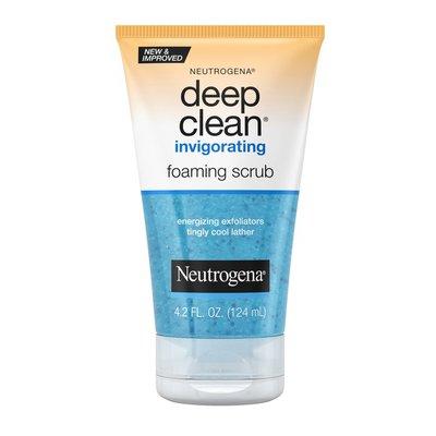 Neutrogena® Deep Clean Invigorating Foaming Scrub