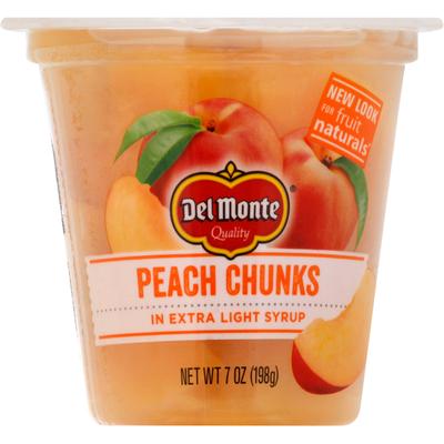 Del Monte Peach Chunks