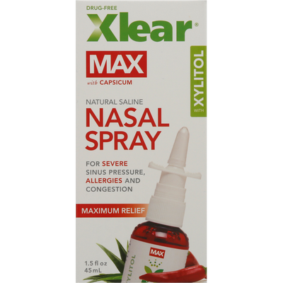 Xlear Nasal Spray, with Xylitol, with Capsicum