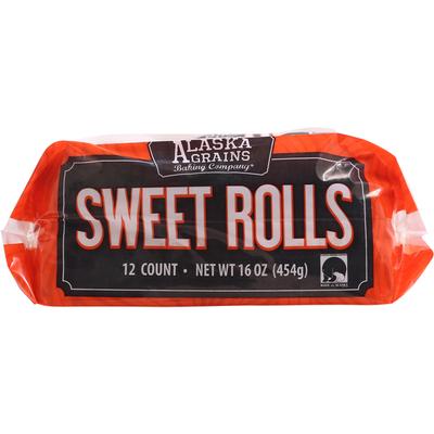 Alaska Grains Sweet Rolls