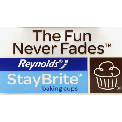 Reynolds Baking Cups, Colorful Prints