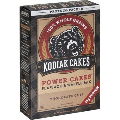 Kodiak Cakes Flapjack & Waffle Mix, Chocolate Chip, Power Cakes