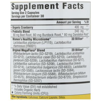 MegaFood MegaFlora® Women's Probiotic